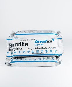 Barrita energética de 65gr sabor cookie cream